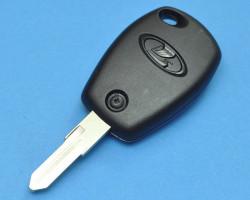 Рабочий чип-ключ зажигания Granta FL, оригинальный. С чипом PCF 7936. Используется в автомобилях LADA Granta с 2019 года, с замком Рено. Программируется обучающим (красным) ключом. Лезвие VAC 102.
