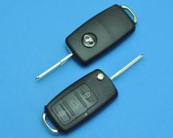 Выкидной ключ зажигания с чипом Лада (Калина, Гранта, Приора).