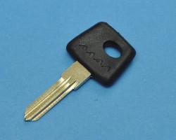 Заготовка ключа зажигания ВАЗ, с местом под чип.